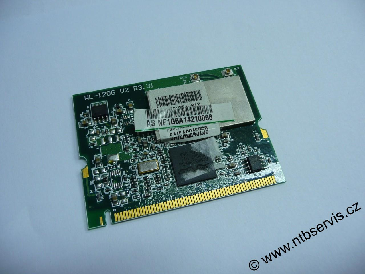 WiFi karta Mini PCI Asus WL-120G